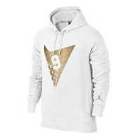 Jordan Retro 7 Fleece Pull Over Hoodieメンズ White/Metallic Gold パーカー ジョーダン