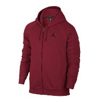 Jordan Flight Fleece Full Zip Hoodieメンズ Gym Red/Black パーカー ジョーダン