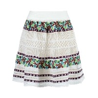 Cecilia Prado - crochet skirt - women - コットン/アクリル - P