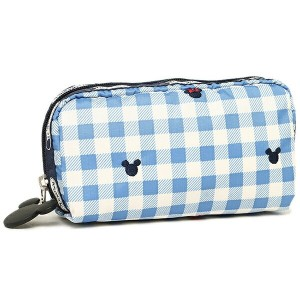 レスポートサック コスメポーチ LESPORTSAC 6511 P930 RECTANGULAR COSMETIC ポーチ CHECKS AND BOWS