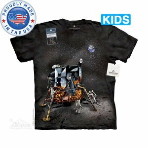 The Mountain Tシャツ The Smithsonian Apollo Lunar Module (The Smithsonian 宇宙 アポロ月着陸船 キッズ 子供用 女児 男児) S...