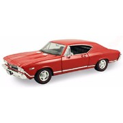 1/24 1968 CHEVROLET CHEVELLE SS(レッド)【WE29397R】 【税込】 WELLY [WELLY WE29397R 1/24 1968 CHEVROLET]...