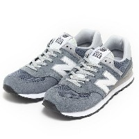 【NEW BALANCE】 ニューバランス ML574VIA 16FW HARBOR BL(VIA)