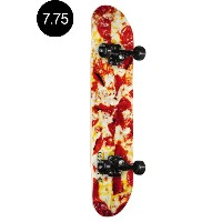 【MINI LOGO ミニロゴ】7.75in x 31.75in SMALL BOMB SKATEBOARD COMPLETE PIZZAコンプリート(完成組立品)ピザ スケートボード スケボー...