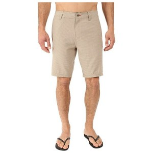 オニール メンズ 水着 水着 Locked Stripe Hybrid Boardshorts Khaki
