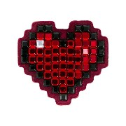 Anya Hindmarch 'Heart' diamante sticker
