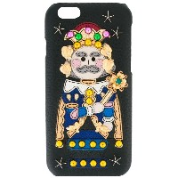 Dolce & Gabbana - Wonderland iPhone 6 カバー - women - レザー - ワンサイズ