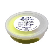 AliMed® セラピーパテ【シリコンパテ 2oz】-therapy putty- 正規輸入品 (Yellow-X Soft(黄:超やわらか))