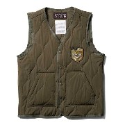 【Softmachine】ソフトマシーン【IN・N・OUT VEST】OLIVE【ベスト】ソフトマシン【MILITARY VEST】ミリタリーベスト【送...
