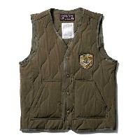 【Softmachine】ソフトマシーン【IN・N・OUT VEST】OLIVE【ベスト】ソフトマシン【MILITARY VEST】ミリタリーベスト【送料無料】