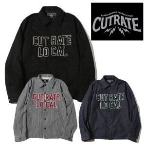 CUT RATE カットレイト COACH JACKET コーチジャケット