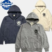 "BUZZ RICKSON'S(バズリクソン)フルジップスゥエットパーカー【BR65599 FULLZIP SWEAT PARKA ""U.S. AIR FORCE""】"