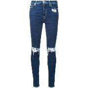 7 For All Mankind ダメージスキニージーンズ