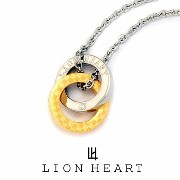 LION HEART ライオンハート ネックレス メンズ 04N135SLYG ペンダント ギフト プレゼント