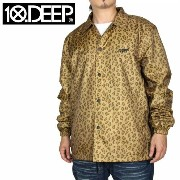 10DEEP 10ディープ コーチジャケット SOUND & FURY COACH'S JACKET 63TD0604