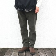 YOUNG & OLSEN(ヤングアンドオルセン)/ YOUNG CORD LEANS -DK.OLIVE-