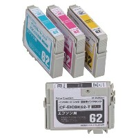 ★★Color Creation/EPSON/IC4CL62互換/エコカートリッジ/4色パック CF-EIC4CL62プリンターインク カートリッジ エプソン プリンター プリンターインクエプソン...