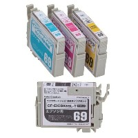 ★★Color Creation/EPSON/IC4CL69互換/エコカートリッジ/4色パック CF-EIC4CL69プリンターインク カートリッジ エプソン プリンター プリンターインクエプソン...