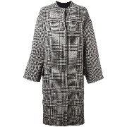 Ava Adore houndstooth pattern coat