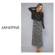 最短翌日着)MINK PINK The Don't Mesh With Me Maxi Dress MINKPINK(ミンクピンク) バイマ BUYMA