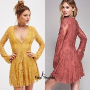 【FreePeople】Reign Over Me Lace Dress Free People(フリーピープル) バイマ BUYMA