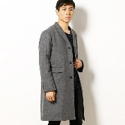 【16AW】「雑誌CLUEL homme 11月号掲載」CHESTERFIELD COAT/フレッドペリー(メンズ)(FRED PERRY)【dl】0101marui