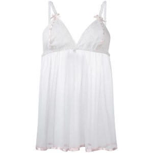 Folies By Renaud - Antoinette Babydoll スリップ - women - ナイロン - L