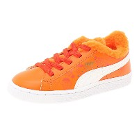 プーマ バスケット SESAME B & E AC PS ユニセックス Dandelion-Vibrant Orange-Puma Black
