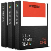 【送料無料】 IMPOSSIBLE SX-70 Type Triple Pack