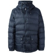 Ea7 Emporio Armani zipped hooded jacket