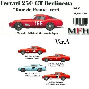 Ferrari 250 TDF #165/#1/#163/#167 【1/24 Full detail kit】