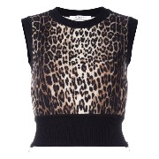 Givenchy knitted cropped tank top