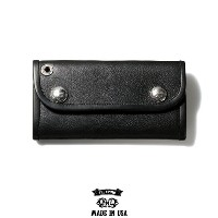 "【CRIMIE】クライミー(CRIMIExBILL WALL LETHER)クライミー×ビルウォール レザー/""BW LETHER WALLET"" レザーウォレット(BLACK)"