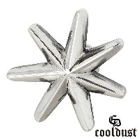 cooldust FUNKOUTS【クールダスト】seven pointed star シルバー ピアス メンズ 1個売り 片耳用 星