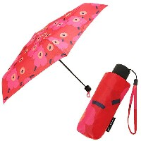 マリメッコ 傘 MARIMEKKO 038653 301 MINI-UNIKKO MINI MANUAL UMBRELLA 折りたたみ傘 RED/DARK RED