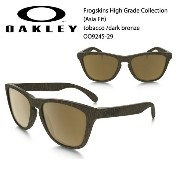 【OAKLEY オークリー】 サングラス Frogskins® High Grade Collection (Asia Fit) tobacco /dark bronze OO9245-29...