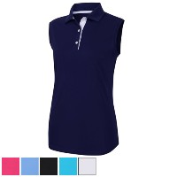 FootJoy Ladies ProDry Interlock Sleeveless Shirt Knit Collar【ゴルフ レディース>トップス】
