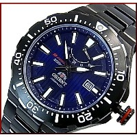 ORIENT/M-FORCE 200m Light Sports【オリエント/エムフォース】DIVER'S/ダイバーズウォッチ メンズ腕時計 自動巻 パワーリザーブ ネイビー文字盤...