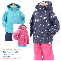 RESEEDA〔レセーダ スキーウェア キッズ〕 2017 TODDLER SUIT RES59006【上下セット】【サイズ調節可能】