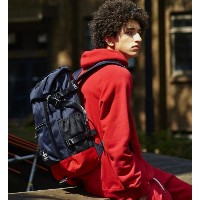 【MAKAVELIC】CHASE DOUBLE LINE BACK PACK【フーズフーギャラリー/WHO'S WHO gallery リュック】