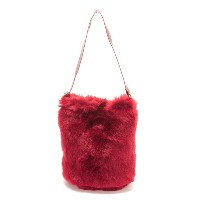 【SALE/45%OFF】X-girl FUR BUCKET TOTE エックスガール バッグ【RBA_S】【RBA_E】【送料無料】
