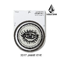 2017 VOLCOM ボルコム デッキパッド JAMIE EYE STOMP PAD WHITE