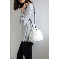 【SALE/60%OFF】AZUL by moussy フェイクファーポシェット アズールバイマウジー バッグ【RBA_S】【RBA_E】