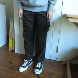 ENDS and MEANS Cord Fatigue Pants エンズアンドミーンズ コード ファティーグ パンツ