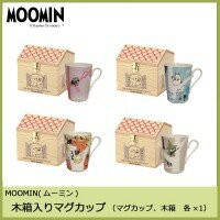 MOOMIN(ムーミン) forest of the four seasons 木箱入りマグカップ「他の商品と同梱不可」