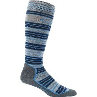 アイスブレーカー Icebreaker メンズ スキー ソックス【Ski+ Ultralight Over The Calf Sock】Fossil/Admiral/Pelorus