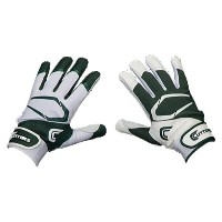 カッターズ メンズ 野球 グローブ 手袋【Cutters Power Control 2.0 Yin Yang Batting Glove】Green/White