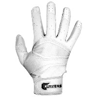 カッターズ メンズ 野球 グローブ 手袋【Cutters Prime Hero Pro Batting Gloves】White/White