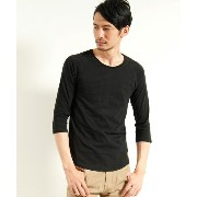 【Nudie Jeans(ヌーディージーンズ)】QUARTER SLEEVE TEE カットソー