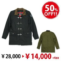 [Final Sale]RS Fireman Jacket:RESCUE SQUAD[レスキュースクワッド]